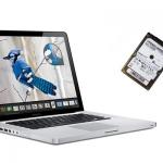 Замена HDD (жесткого диска) на Macbook Pro, Air. Жесткий диск для Макбук про, эир